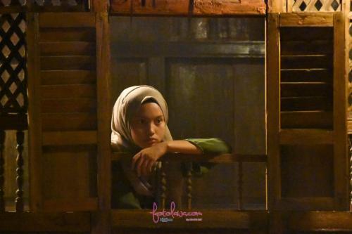 A girl by the window.Kuala Pilah, Negeri Sembilan.