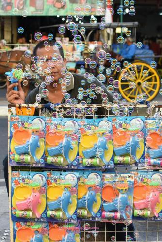 Bubbles of life.Jakarta.