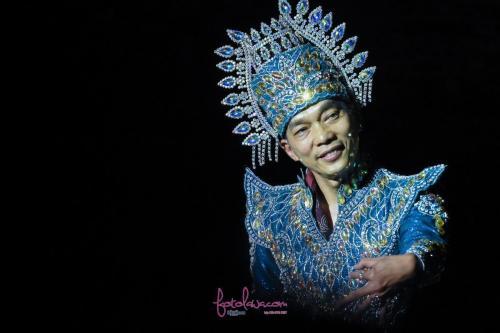 Thai traditional costume.Kuala Lumpur.