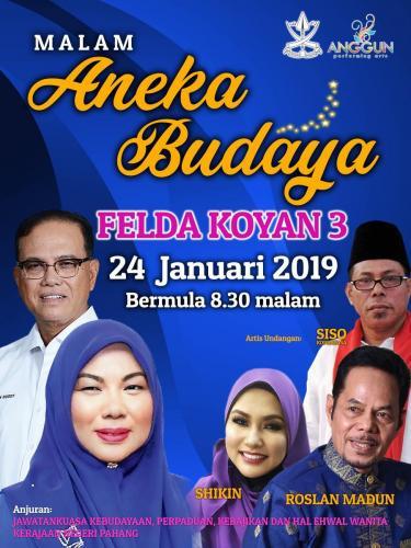 Malam Aneka Budaya, 2019