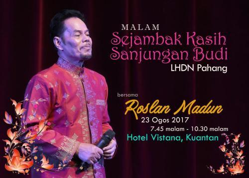 Malam Sejambak Kasih Sanjungan Budi LHDN Pahang, 2017