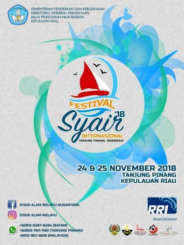 Festival syair Internasional, Tanjungpinang, 2018